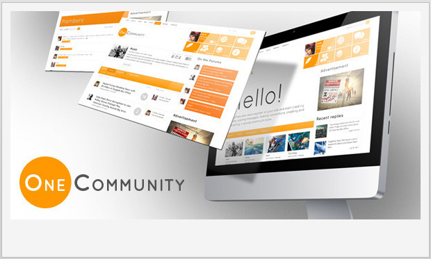 OneCommunity -Responsive Buddypress WordPress Theme