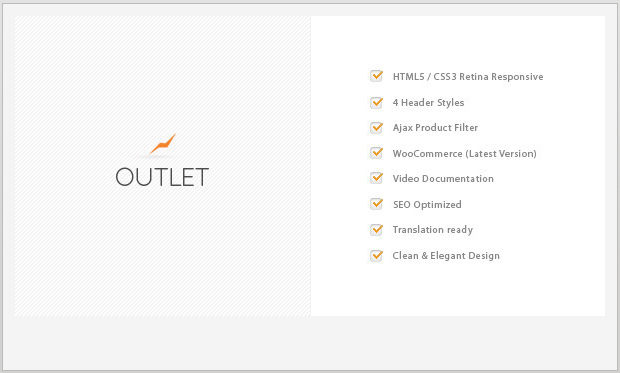 Outlet -Responsive WooCommerce WordPress Theme