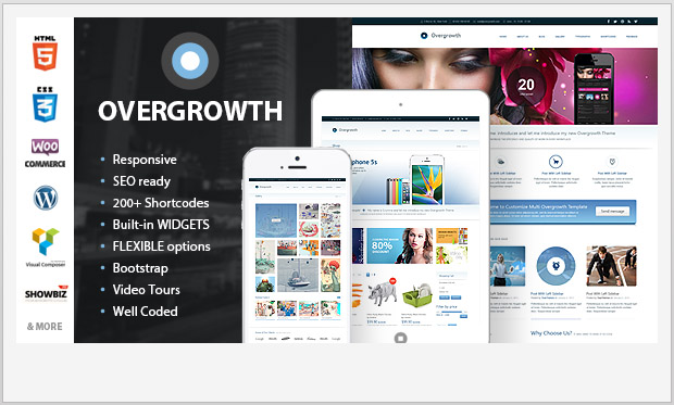 Overgrowth -Best Responsive WordPress Theme for Bloggers