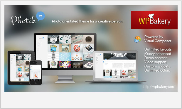 Photik -Best Responsive WordPress Theme for Bloggers