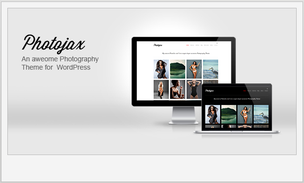Photojax -Minimalist Responsive WordPress Theme