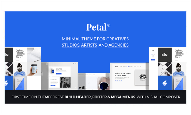 Petal - Responsive WordPress Themes