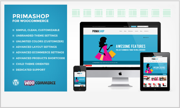 PrimaShop -Responsive WooCommerce WordPress Theme