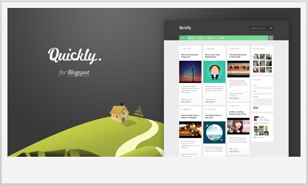 Quickly -Best Responsive WordPress Theme for Bloggers