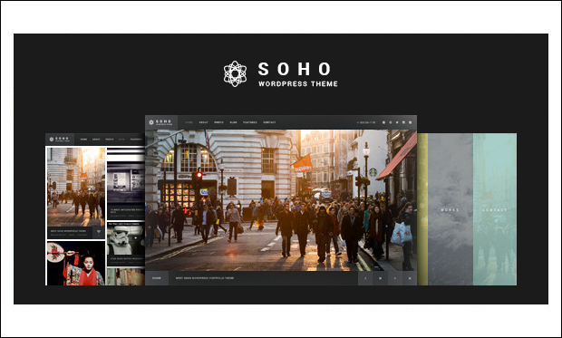 SOHO - Photographer WordPress Themes