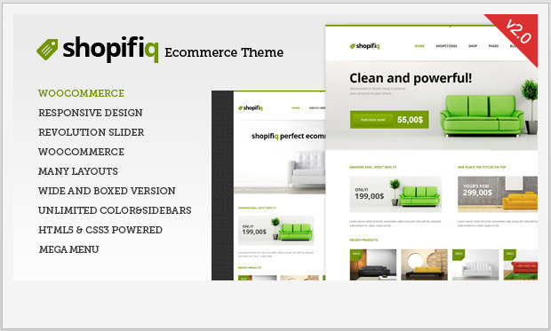 Shopifiq -Responsive WooCommerce WordPress Theme