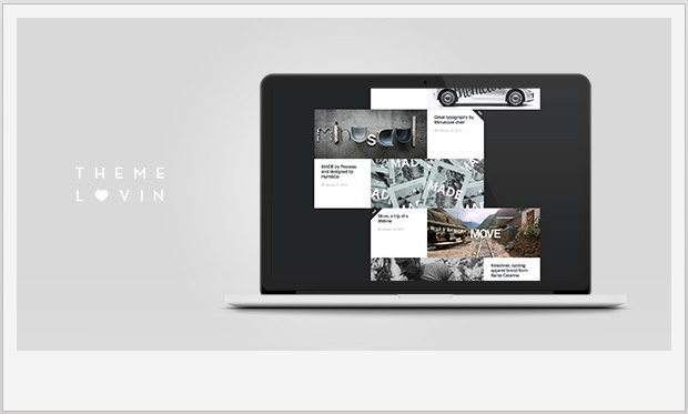 Slurp -Minimalist Responsive WordPress Theme