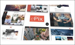 ePix - Photographer WordPress Themes