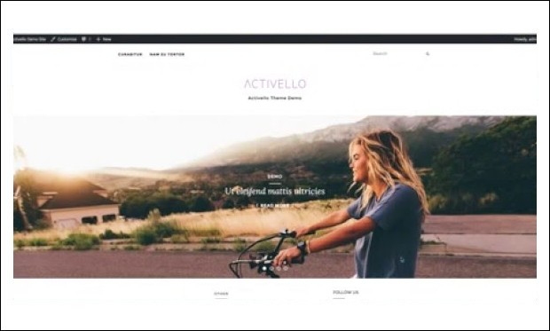 Activello -Magazine WordPress Themes