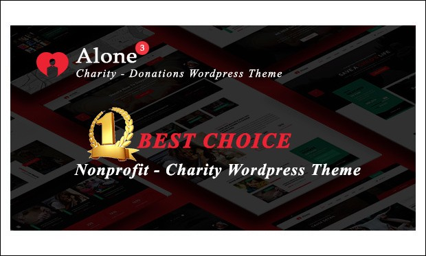 Alone - WordPress Themes for Non-Profit Organizations