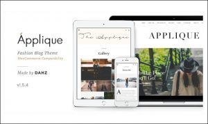 Applique - WordPress Themes for Bloggers