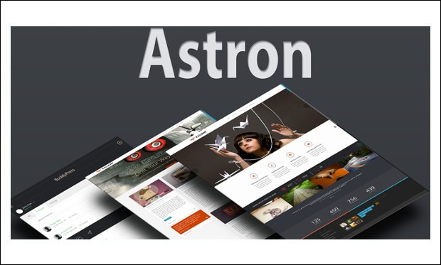 Astron - Responsive BuddyPress WP Themes
