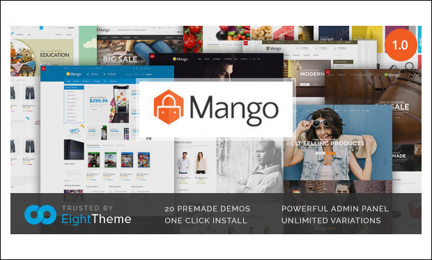 Mango - WooCommerce WordPress Themes