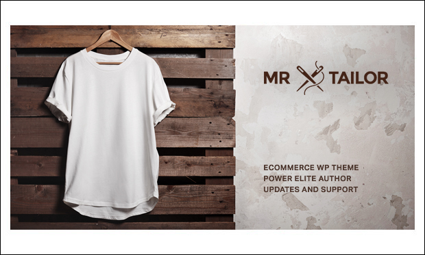 Mr. Tailor - WooCommerce WordPress Themes