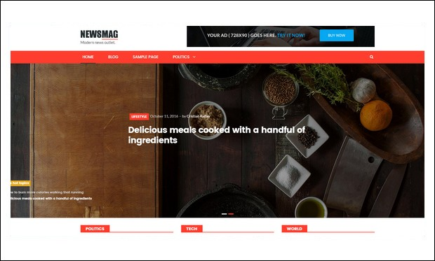 NewsMag - Magazine WordPress Themes
