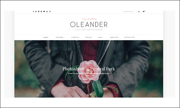 Oleander - WooCommerce WordPress Themes
