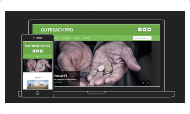 Outreach - WordPress Themes for Non-Profit Organizations