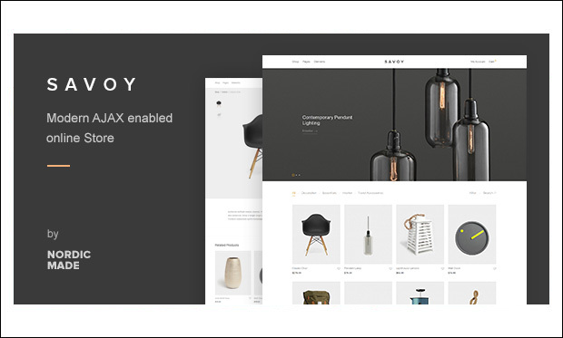 Savoy - WooCommerce WordPress Themes
