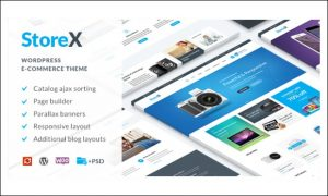 StoreX - WooCommerce WordPress Themes