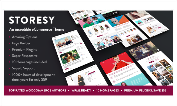 Storesy - WooCommerce WordPress Themes