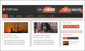 Tortuga - Three Column WordPress Themes