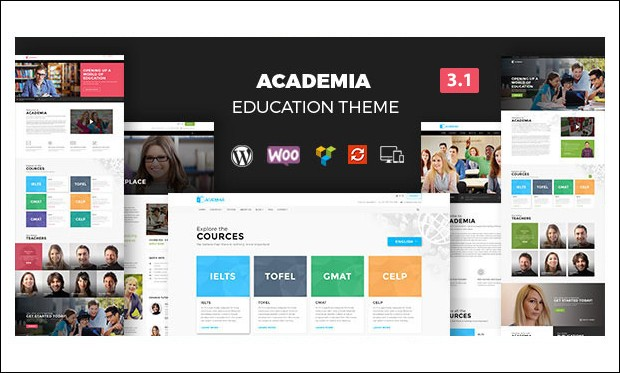 Academia - Schools and Universities WordPress Themes