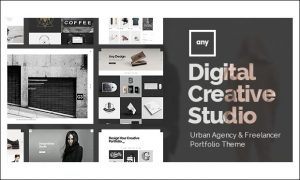 Any - Creative Agencies WordPress Themes