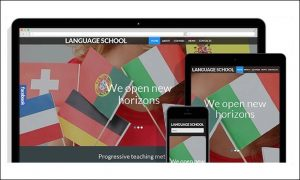 Language School - Schools and Universities WordPress Themes
