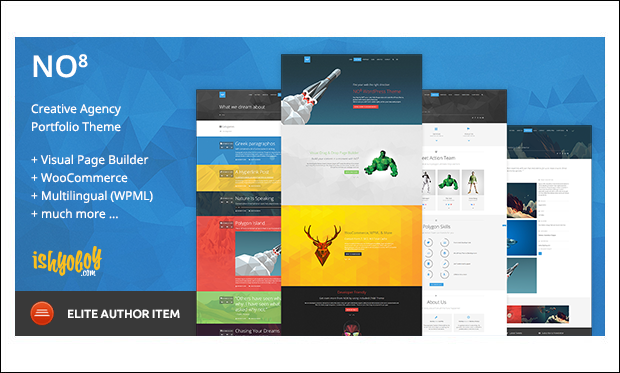 NO8 WP - Designer WordPress Themes