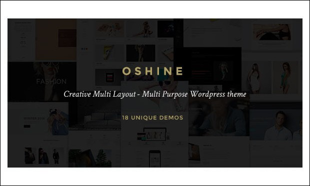 Oshin - Creative Agencies WordPress Themes