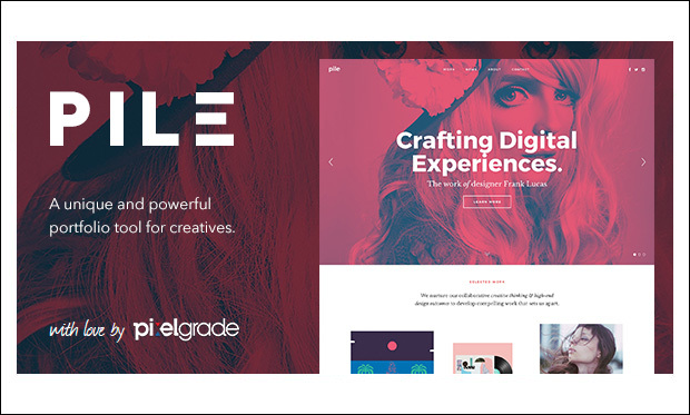 Pile - Designer WordPress Themes