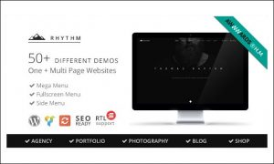 Rhythm - Creative Agencies WordPress Themes
