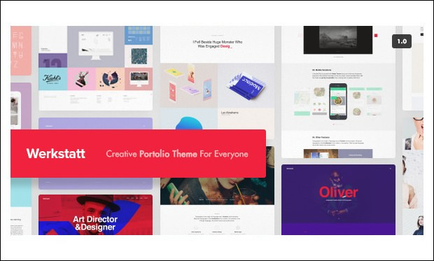 Werkstatt - Creative Agencies WordPress Themes