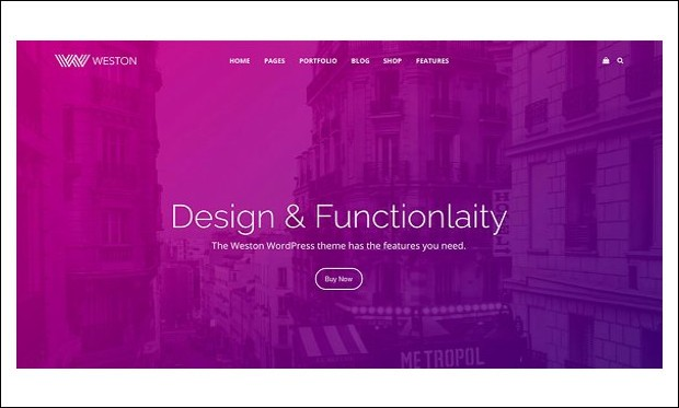 Weston - Creative Agencies WordPress Themes