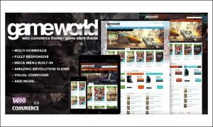 Gameworld - WordPress Themes for Gaming Websites