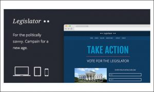 Legislator - WordPress Themes for Politicians and Political Parties