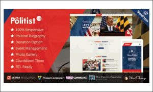 Politist - WordPress Themes for Politicians and Political Parties