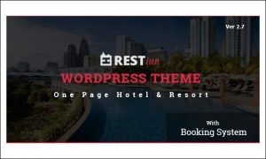 Restinn - WordPress Themes for Hotel Bookings and Accommodation
