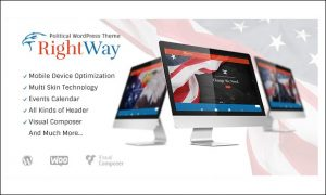 Rightway - WordPress Themes for Politicians and Political Parties