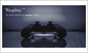 youplay - WordPress Themes for Gaming Websites