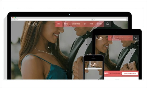 Dating Agency - WordPress Themes for Dating and Community Websites