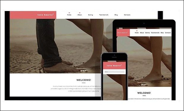 Love Hearts - WordPress Themes for Dating and Community Websites