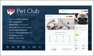 Petclub - WordPress Themes for Dating and Community Websites