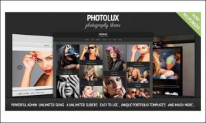 Photolux - AJAXED Responsive WordPress Themes