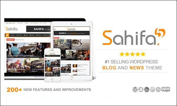 Sahifa - Designed Responsive WordPress Themes