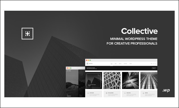 collective - AJAXED Responsive WordPress Themes