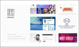Brooks WP - WordPress Themes for Advertising Agencies