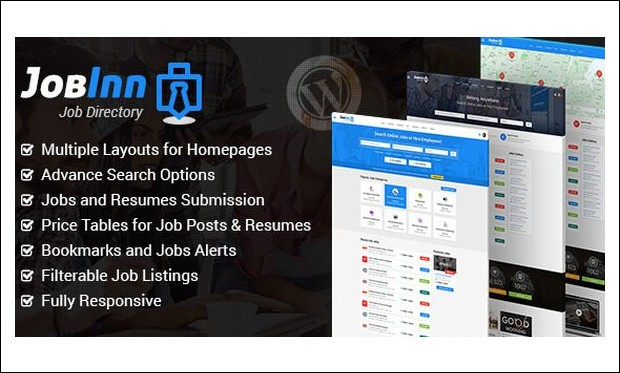 JobInn - Job Board and Classifieds WordPress Themes