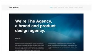 The Agency - WordPress Themes for Advertising Agencies