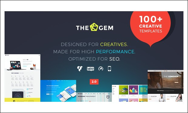Thegem - WordPress Themes for Advertising Agencies
